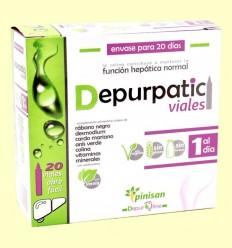 Depurpatic - Función Hepática - Pinisan - 20 ampollas