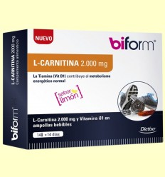 L-Carnitina 2000 mg - Biform - 14 viales