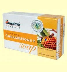 Jabón con crema de leche y miel - Himalaya Herbals - 75 gramos