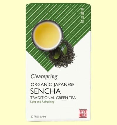 Té Verde Sencha - Clearspring - 20 filtros