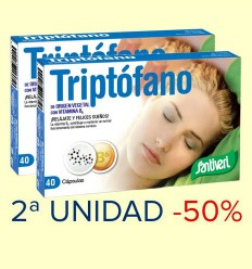 Triptófano - Santiveri - 2ª unidad 50% dto - 40 cápsulas