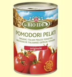 Tomates Enteros Pelados - La Bio Idea - 400 gramos