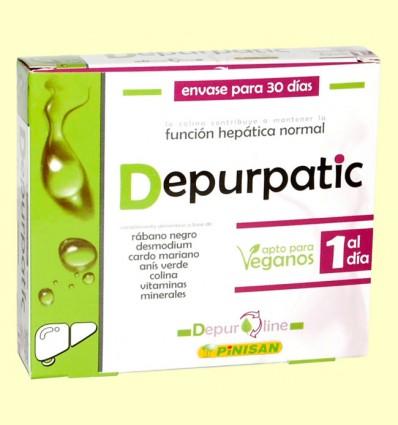 Depurpatic - Función Hepática - Pinisan - 30 cápsulas