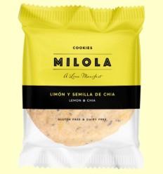 Cookie Limón y Chía - Milola - 1 unidad