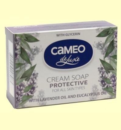 Jabón en Pastilla Protector con Aceite de Lavanda y Eucalipto - Biofresh Cameo - 100 gramos