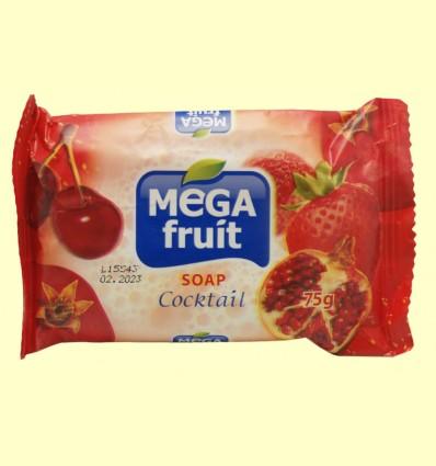 Jabón en Pastilla Cocktail Frutas Rojas - Biofresh Mega Fruit - 75 gramos