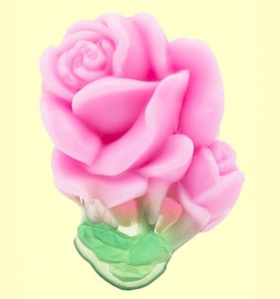 Jabón Artesanal Rosa - Biofresh - 40 gramos