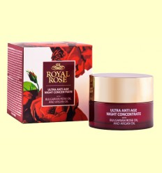Crema Noche Anti Edad - Biofresh Royal Rose - 40 ml