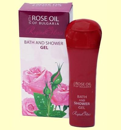 Gel de Ducha con Aceite de Rosa de Bulgaria - Regina Roses - Biofresh - 230 ml