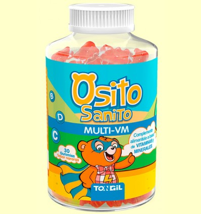 Osito Sanito Gummies Multi VM - Tongil - 30 unidades