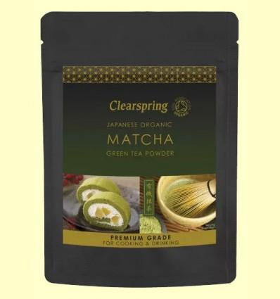 Té Verde Matcha polvo Premium - Clearspring - 40 gramos