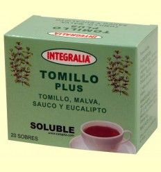 Tomillo Plus Soluble - Integralia - 20 sobres