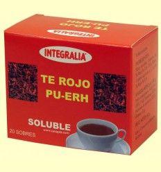 Te Rojo Pu-Erh Soluble - Integralia - 20 sobres
