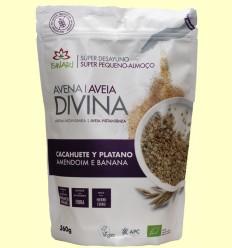 Avena Divina Cacahuete y Plátano Bio - Iswari - 360 gramos
