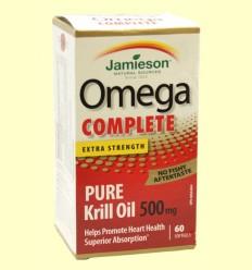 Omega Complete Super Krill 500 mg - Jamieson - 60 cápsulas