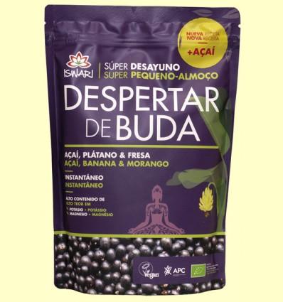 Despertar de Buda Açai Plátano Fresa Bio - Iswari - 360 gramos