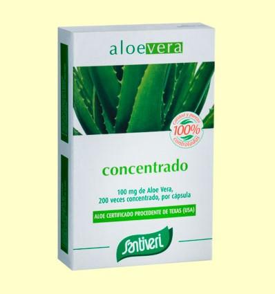 Aloe Vera Cápsulas - Santiveri - 40 cápsulas