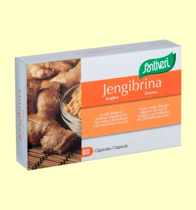 Jengibrina - Santiveri - 60 cápsulas