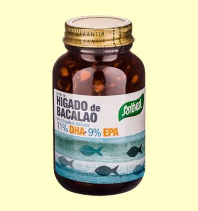 Aceite de Hígado de Bacalao 500 mg - Santiveri - 120 perlas