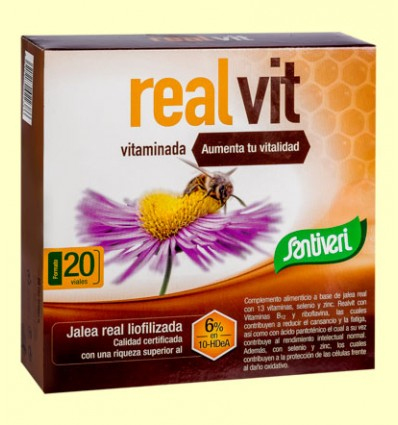 Realvit - Santiveri - 20 viales
