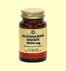 Glucosamina Sulfato 1000 mg - Solgar - 30 comprimidos******