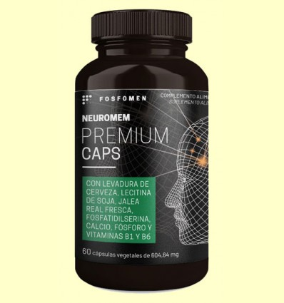 Fosfomen Neuromem Premium Caps - Herbora - 60 cápsulas