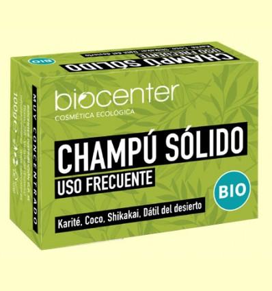Champú Solido Uso Frecuente Bio - Biocenter - 100 gramos