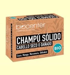 Champú Solido Cabello Seco o Dañado Bio - Biocenter - 100 gramos