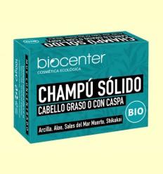 Champú Solido Cabello Graso o con Caspa Bio - Biocenter - 100 gramos