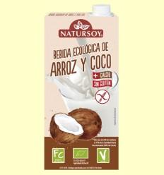 Bebida Ecológica de Arroz y Coco - Natursoy - 1 Litro