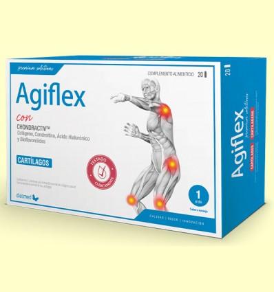 Agiflex con Chondractiv - Salud articular - DietMed - 20 ampollas