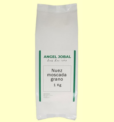 Nuez Moscada Grano - Angel Jobal - 1 Kg