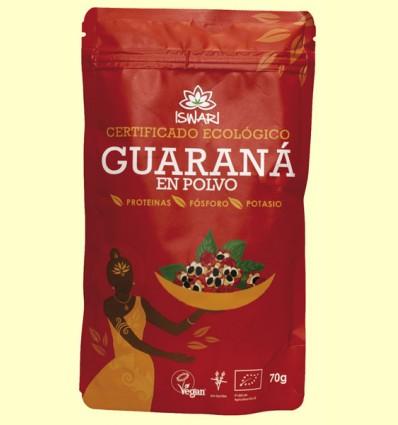 Guaraná en polvo Bio - Iswari - 70 gramos
