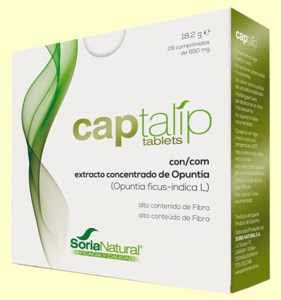 Captalip - Absorción de Grasas - Soria Natural - 28 comprimidos