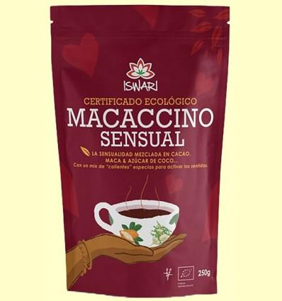 Macaccino Sensual Bio - Iswari - 250 gramos