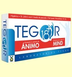 Tegor 18 Plus Ánimo Mind - Tegor - 40 cápsulas