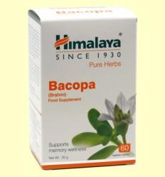 Bacopa Memory Wellness - Himalaya Herbals - 60 cápsulas