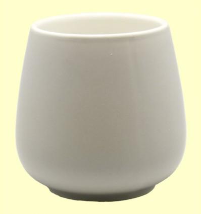 Taza de Porcelana Saara Gris Mate