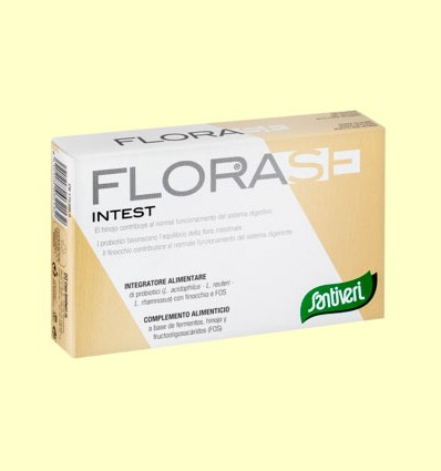 Florase Intest - Santiveri - 40 cápsulas
