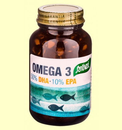 Omega 3 DHA EPA - Santiveri - 120 perlas