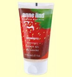 Anne Lind Body Gel Strawberry - Gel de ducha fresa - Anne Marie Börlind - 150 ml