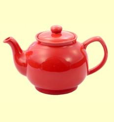 Tetera Alan de Cerámica Color Rojo - Cha Cult - 1 litro