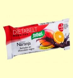 Barrita Sustitutiva Dietabelt con Mango Africano - Sabor Naranja - Santiveri - 35 gramos