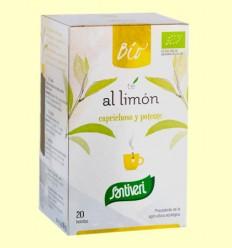 Infusión de Té al Limón Bio - Santiveri - 20 bolsitas