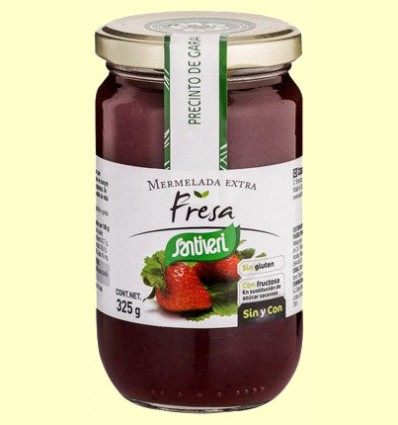 Mermelada de Fresa - Santiveri - 325 gramos