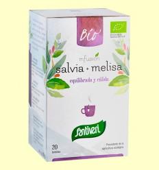 Infusión de Salvia y Melisa Bio - Santiveri - 20 bolsitas