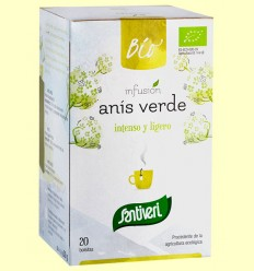 Infusión de Anís Verde Bio - Santiveri - 20 bolsitas