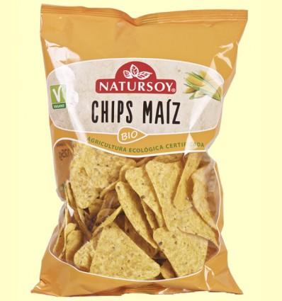 Chips de Maíz Bio - Natursoy - 125 gramos
