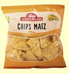 Chips de Maíz Bio - Natursoy - 75 gramos