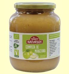 Compota de Manzana Bio - Natursoy - 700 ml